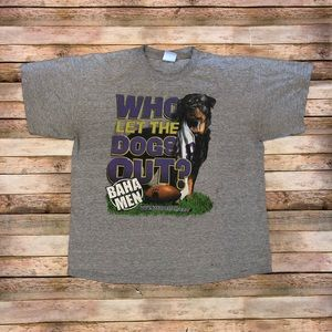 2000s Baha Men Who let the Dogs Out Tee